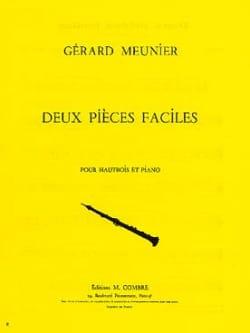 Gérard Meunier - 2 Pièces faciles - Partition - di-arezzo.fr