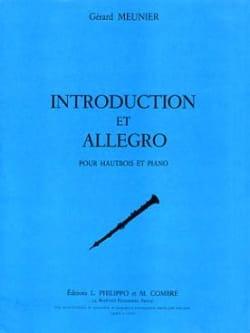 Gérard Meunier - Introduction et Allegro - Partition - di-arezzo.fr