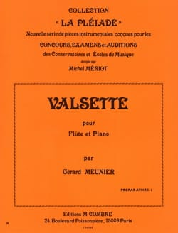 Gérard Meunier - Valsette - Sheet Music - di-arezzo.co.uk