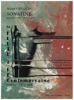 Michel Meynaud - Sonatine – Flûte à bec alto piano - Partition - di-arezzo.fr