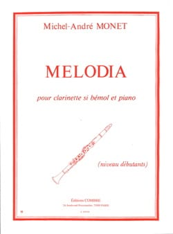 Michel-André Monet - Melodia - Partition - di-arezzo.fr