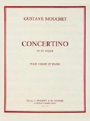 Gustave Mouchet - Concertino en ré majeur - Partition - di-arezzo.fr