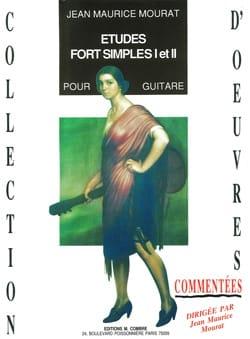 Etudes fort simples 1 et 2 Jean-Maurice Mourat Partition laflutedepan