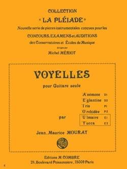 Voyelles U et Y : Ulmaire - Yuca - laflutedepan.com