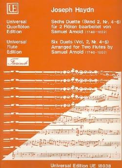 6 Duette Band 2, Nr. 4-6 - 2 Flöten - HAYDN - laflutedepan.com