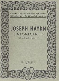 HAYDN - Symphonie Nr. 10 D-Dur Hob. 1 : 10 - Partitur - Partition - di-arezzo.fr
