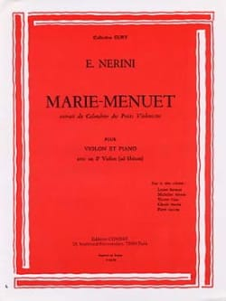 Emmanuel Nerini - Mary Menuet - Sheet Music - di-arezzo.co.uk