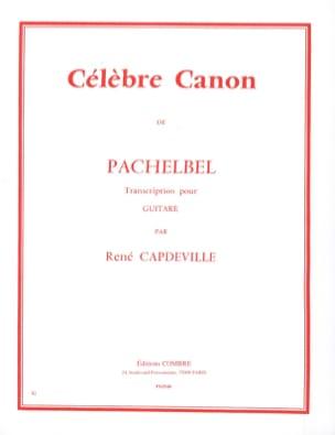 Johann Pachelbel - Celebre Canon - Guitare - Partition - di-arezzo.fr