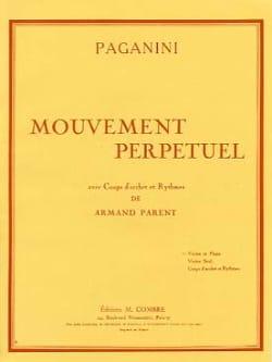 Mouvement perpétuel PAGANINI Partition Violon - laflutedepan