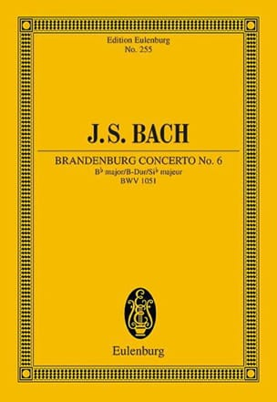 Brandenburgisches Konzert Nr 6 B-Dur - laflutedepan.com