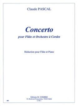 Concerto - Flûte piano Claude Pascal Partition laflutedepan