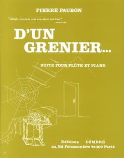 Pierre Paubon - From an attic ... - Sheet Music - di-arezzo.com