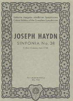 Joseph Haydn - Symphonie Nr. 38 C-Dur Hob. 1 : 38 – Paritur - Partition - di-arezzo.fr