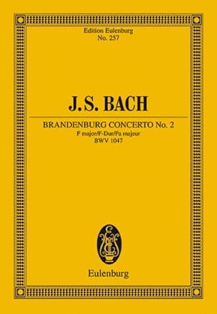 BACH - Brandenburgisches Konzert Nr. 2 F-Dur - Sheet Music - di-arezzo.co.uk