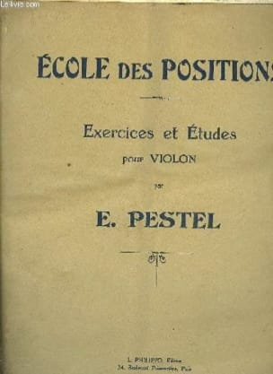 E. Pestel - Ecole des positions - Partition - di-arezzo.fr