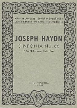 Symphonie Nr. 66 B-Dur Hob. 1 : 66 - Partitur - laflutedepan.com