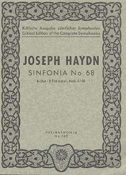 Symphonie Nr. 68 B-Dur Hob. 1 : 68 - Partitur - laflutedepan.com