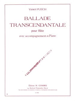 Ballade transcendantale - Yanet Puech - Partition - laflutedepan.com