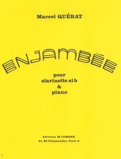 Marcel Quérat - Enjambée - Partition - di-arezzo.fr