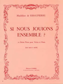 Madeleine de Ribaupierre - If we played together? - Sheet Music - di-arezzo.co.uk