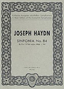 Symphonie Nr. 84 Es-Dur Hob. 1 : 84 – Partitur - laflutedepan.com