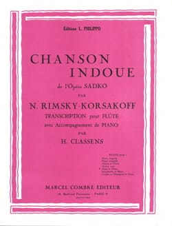 Nicolaï Rimsky-Korsakov - Hindu song - Sheet Music - di-arezzo.co.uk
