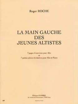 Roger Roche - La main gauche des jeunes altistes - Partition - di-arezzo.fr