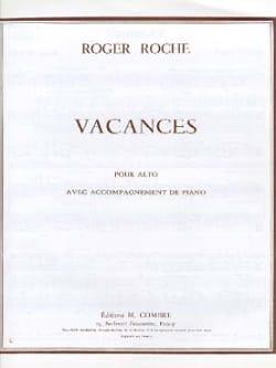 Roger Roche - Vacances - Partition - di-arezzo.fr