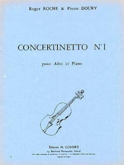 Roche Roger / Doury Pierre - Concertinetto n° 1 - Partition - di-arezzo.fr