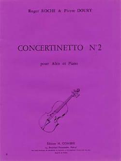 Roche Roger / Doury Pierre - Concertinetto n° 2 - Partition - di-arezzo.fr
