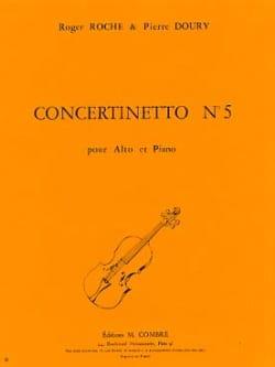 Roche Roger / Doury Pierre - Concertinetto n° 5 - Partition - di-arezzo.fr