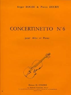 Roche Roger / Doury Pierre - Concertinetto n ° 6 - Partitura - di-arezzo.it