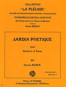 Denise Roger - Jardin poétique - Partition - di-arezzo.fr