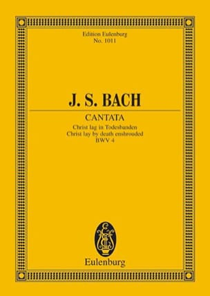 Cantata Christ Lag In Todesbanden Bwv 4 BACH Partition laflutedepan