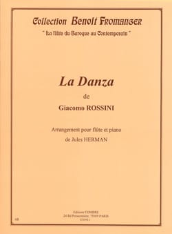 Gioacchino Rossini - La Danza Op.21 - Partition - di-arezzo.fr