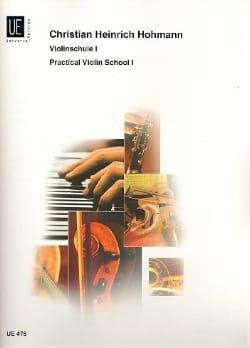 Violinschule, Band 1 - Christian Heinrich Hohmann - laflutedepan.com