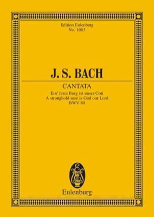 BACH - Cantata Ein Feste Burg Ist Unser Gott Bwv 80 - Partition - di-arezzo.fr
