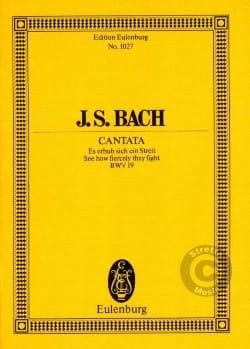 BACH - Cantata Es Erhub Sich Ein Streit Bwv 19 - Partition - di-arezzo.fr
