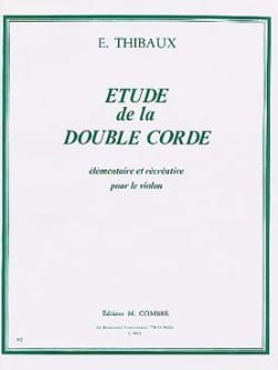 E. Thibaux - Study of the double rope - Sheet Music - di-arezzo.co.uk