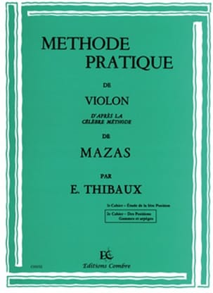 MAZAS - Practical Method According to Mazas Volume 2 - Sheet Music - di-arezzo.co.uk