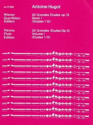 25 Grandes études op. 13 - Bd. 1 - Antoine Hugot - laflutedepan.com