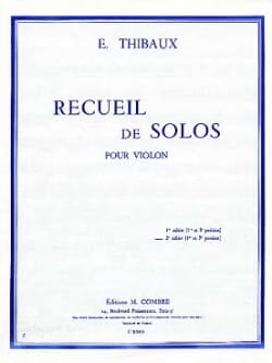 E. Thibaux - Collection of Solos, notebook n ° 2 - Sheet Music - di-arezzo.co.uk