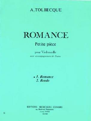 Romance A. Tolbecque Partition Violoncelle - laflutedepan
