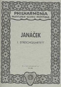 Leos Janacek - Streichquartett Nr. 1 - Partitur - Sheet Music - di-arezzo.co.uk