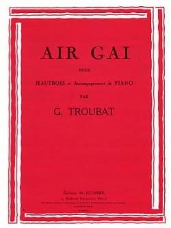 G. Troubat - Air gai - Partition - di-arezzo.fr