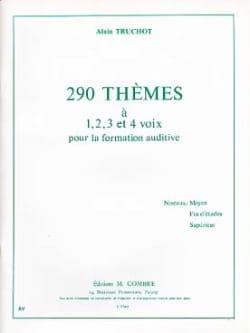 Alain Truchot - 290 Thèmes - Partition - di-arezzo.fr
