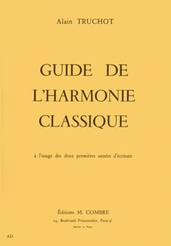 Alain Truchot - Guide to classical harmony - Book - di-arezzo.co.uk