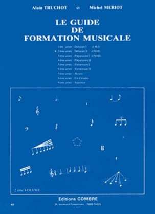 Alain TRUCHOT et Michel MÉRIOT - The Music Training Guide Volume 2 - Sheet Music - di-arezzo.co.uk