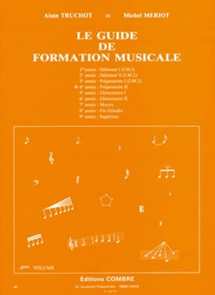 Alain TRUCHOT et Michel MÉRIOT - The Music Training Guide Volume 4 - Partitura - di-arezzo.it