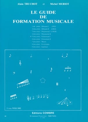 Alain TRUCHOT et Michel MÉRIOT - The Volume 5 Music Training Guide - Sheet Music - di-arezzo.co.uk
